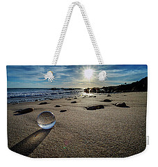 Crystal Ball Sunset Weekender Tote Bag