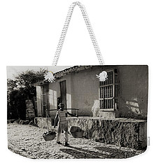 Cuba Village Water Carrier Weekender Tote Bag