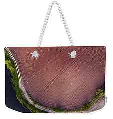 Curved Pathway Weekender Tote Bag