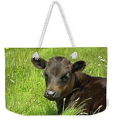 Cute Cow Weekender Tote Bag
