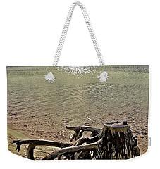 Cypress On The Beach Weekender Tote Bag