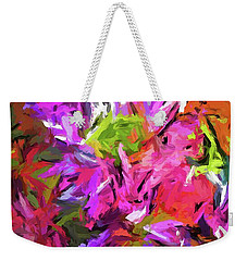 Daisy Rhapsody In Purple And Pink Weekender Tote Bag
