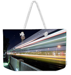 Weekender Tote Bag featuring the photograph Dallas Rapid Transit 111918 by Rospotte Photography