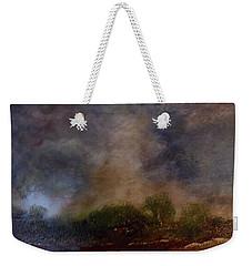 Dark Afternoon Weekender Tote Bag