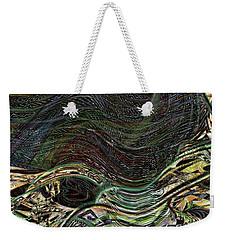 Dark Rainbow Weekender Tote Bag