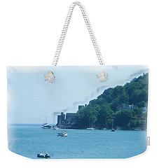 Dartmouth Castle Painting Weekender Tote Bag