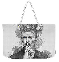 David Bowie. Weekender Tote Bag