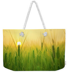 Dawn At The Wheat Field Weekender Tote Bag