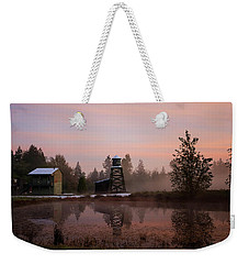 Weekender Tote Bag featuring the photograph Dawning Of A New Day - Hope Valley Art by Jordan Blackstone