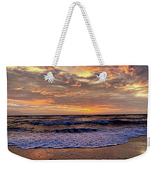 Weekender Tote Bag featuring the photograph Day After Storm 9/16/18 by Barbara Ann Bell