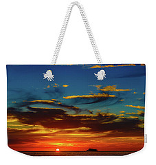 December 17 Sunset Weekender Tote Bag