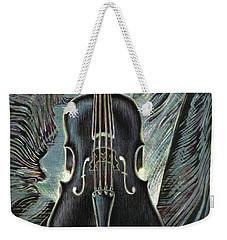 Deep Cello Weekender Tote Bag
