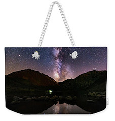 Weekender Tote Bag featuring the photograph Deep Sky Fishing by Tassanee Angiolillo