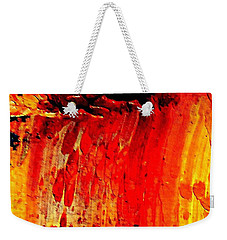 Delicious Paint Abstract Weekender Tote Bag