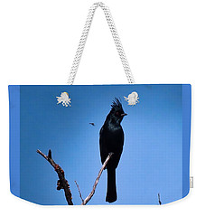 Desert Phainopepla And Dragonfly Weekender Tote Bag