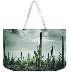 Desert Storm In Arizona Weekender Tote Bag