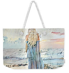 Weekender Tote Bag featuring the digital art Desolate Or Contemplative by Chris Armytage