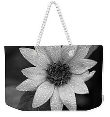 Dewdrops On A Sunflower Weekender Tote Bag