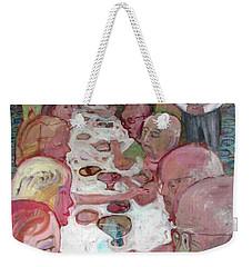 Dinner Party Weekender Tote Bag