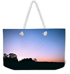 Disappearing Lines Weekender Tote Bag