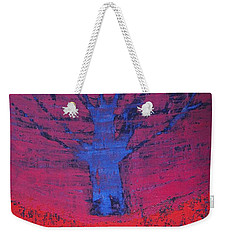 Disappearing Tree Original Painting Weekender Tote Bag
