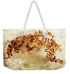 Weekender Tote Bag featuring the photograph Disorderly Order by Randi Grace Nilsberg