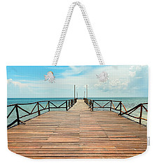 Dock To Infinity Weekender Tote Bag