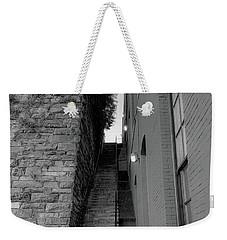 Does Evil Lurk Above? Weekender Tote Bag