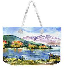 Donner Lake Fisherman Weekender Tote Bag