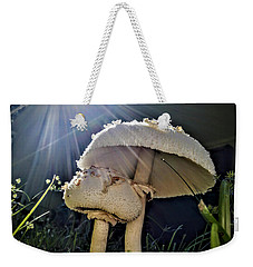Weekender Tote Bag featuring the photograph Don't Be Afraid by Vincent Autenrieb