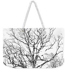 Weekender Tote Bag featuring the photograph Double Exposure 1 by Steve Stanger