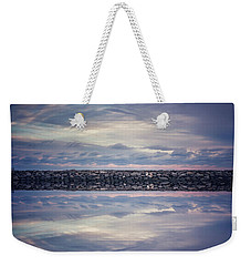 Weekender Tote Bag featuring the photograph Double Exposure 2 by Steve Stanger