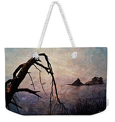 Weekender Tote Bag featuring the photograph Drama At Sunset by Randi Grace Nilsberg