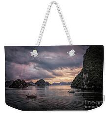 Dramatic Cloud Invade China Sea  Weekender Tote Bag