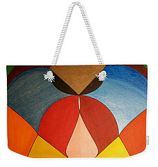 Weekender Tote Bag featuring the painting Dream 336 by S S-ray