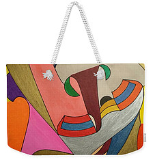 Weekender Tote Bag featuring the painting Dream 337 by S S-ray