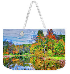 Weekender Tote Bag featuring the photograph Dreams Of Fall In The Finger Lakes by Lynn Bauer