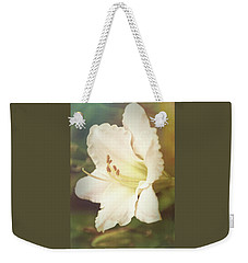 Weekender Tote Bag featuring the photograph Dreamy Lily by Leda Robertson
