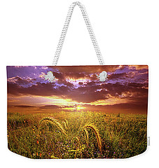 Weekender Tote Bag featuring the photograph Drwing Near by Phil Koch