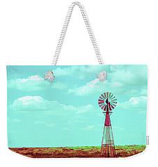 Dueling Tones Windmill Weekender Tote Bag