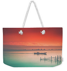 Dusk At Lake Poso  Weekender Tote Bag