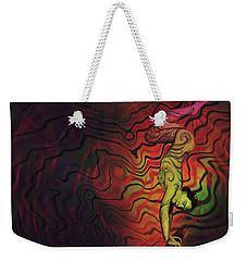 Dynamic Color Weekender Tote Bag