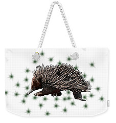 E Is For Echidna Weekender Tote Bag