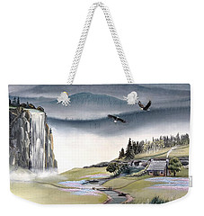 Eagle View Weekender Tote Bag