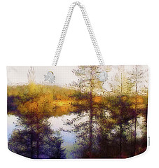 Early Autumn In Finland Weekender Tote Bag