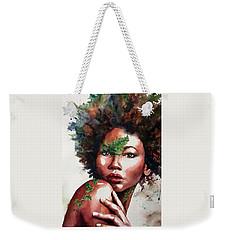 Earth Goddess Weekender Tote Bag