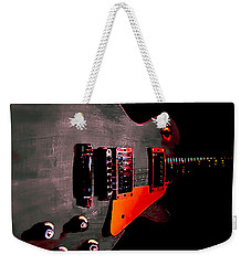 Ebony Relic Guitar Hover Series Weekender Tote Bag