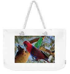 Eclectus Parrots Weekender Tote Bag