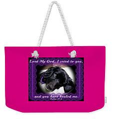 Edie Framed Weekender Tote Bag
