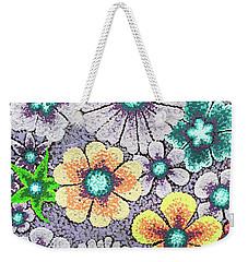 Efflorescent 11 Weekender Tote Bag